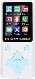 Bluetooth 4.2 Music Player, 8G Rhombus Buttons MP4 Player, for Music Lovers,(White)