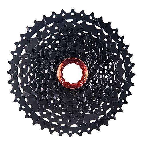 WMMDM Negro de Bicicletas Rueda Libre 9S-40T Velocidad de Casete Engranaje MTB Carretera