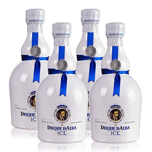 Brandy Gran Duque de Alba ICE de 70 cl - D.O. Jerez-Sherry - Bodegas Williams & Humbert (Pack de 4 botellas)