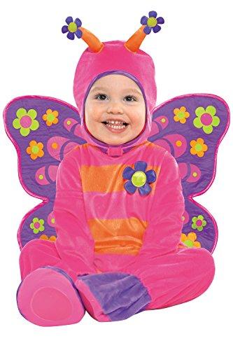 Amscan, costume di carnevale da farfalla, per bambini. Costume fantasia