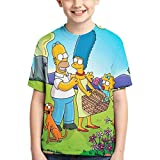 YYTY Simp-Son 8 Shirt Jungen Mädchen T-Shirt Mode