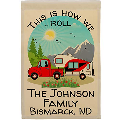 Personalized Camping Flag