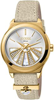 Ferre Milano Casual Watch For Women Analog Leather - FM1L125L0021