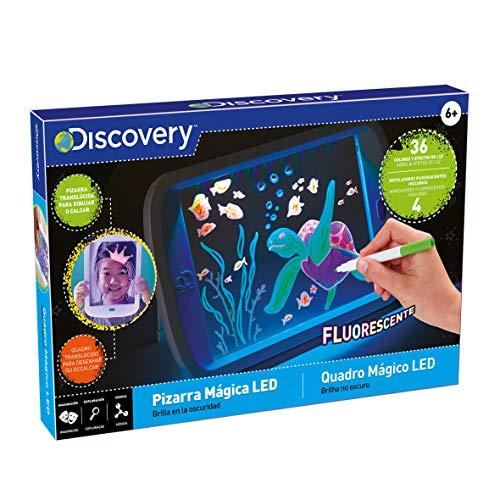 Discovery MagicaLed dibujar, infantil, tableta dibujo, pizarrailuminosaniños (6000112) , color/modelo surtido
