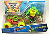 DieCast MonsterJam Creatures Megalodon and Big Tooth (Green) 2021 Action Figure Set