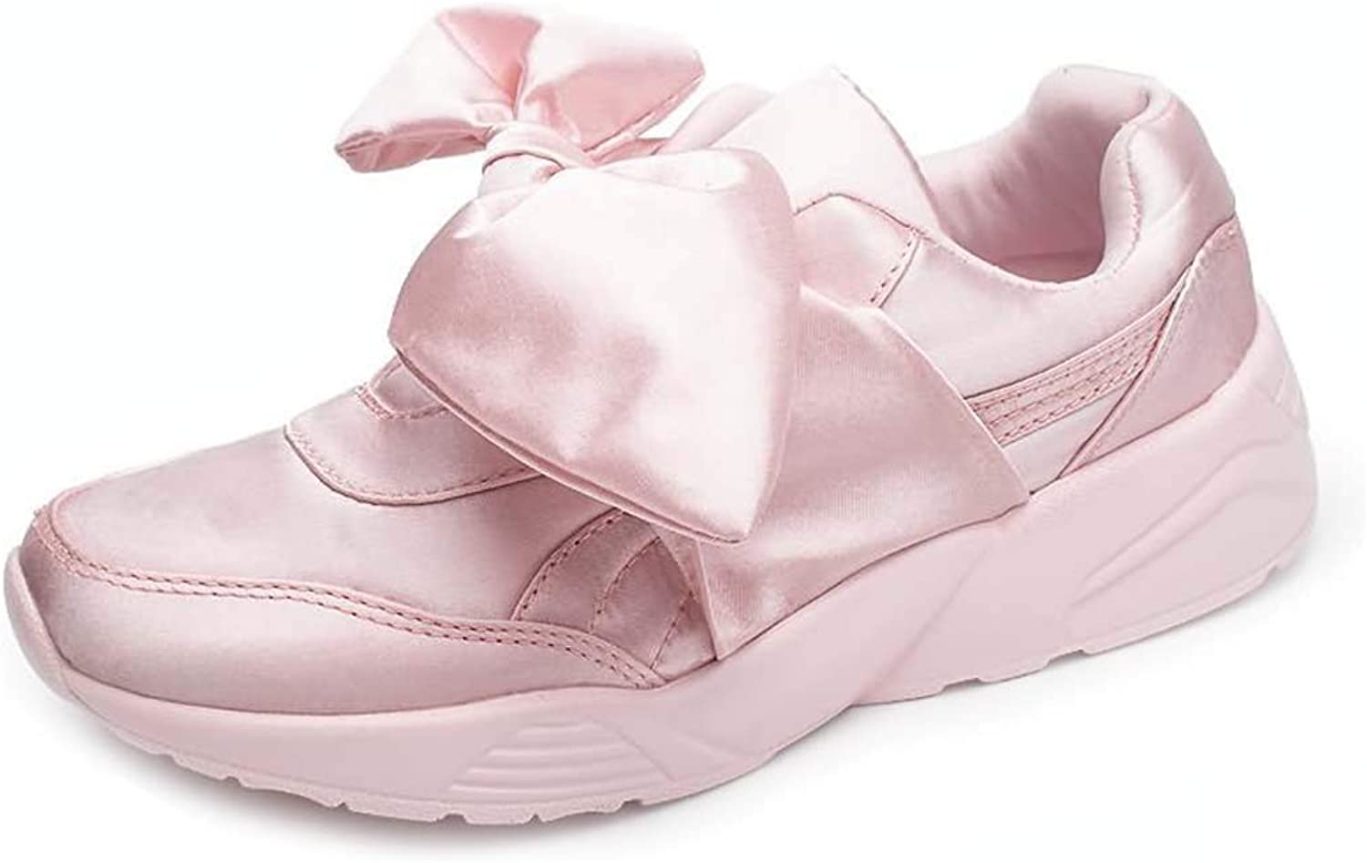Women's Casual Running shoes Jogging Fitness Sports shoes Silk LowCut Flowers Sneakers