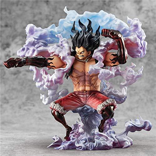 Anime One Piece Figur One Piece Pop Monkey D. Luffy Figur Statue aus PVC Figur Figur Figuren in Form von Figuren, Dekoration, 28 cm