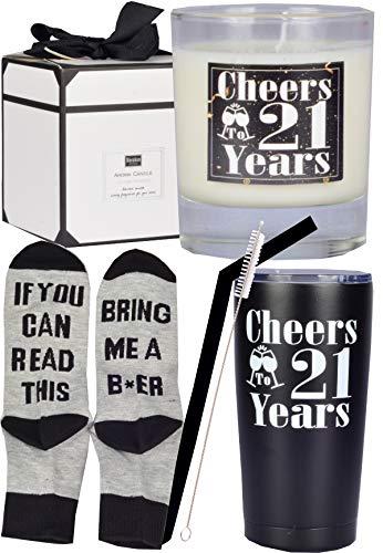 21st Birthday Gifts for Men, 21st Birthday, 21st Birthday Tumbler, 21st...
