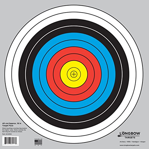 Our #4 Pick is the Longbow Archery 40cm & 80cm Targets