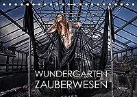 Wundergarten Zauberwesen (Tischkalender 2022 DIN A5 quer): Ein zauberhafter Garten als Symbol der Symbiose von Mensch und Natur (Monatskalender, 14 Seiten )