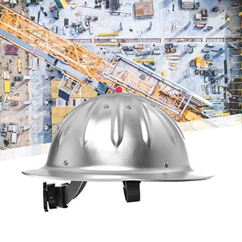 Leichter hochfester Aluminium-Schutzhelm mit Vollkrempe für den BAU des Eisenbahn-Metallurgieminen-Schiffbaus