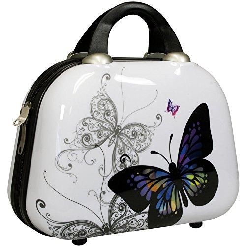 Designer Beautycase Butterfly passend zu Kofferset Butterfly (Beautycase)