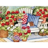 1500ピ 木製 ジグソーパズル おもちゃ パズル ギフト-植木鉢の花束(87*57cm)