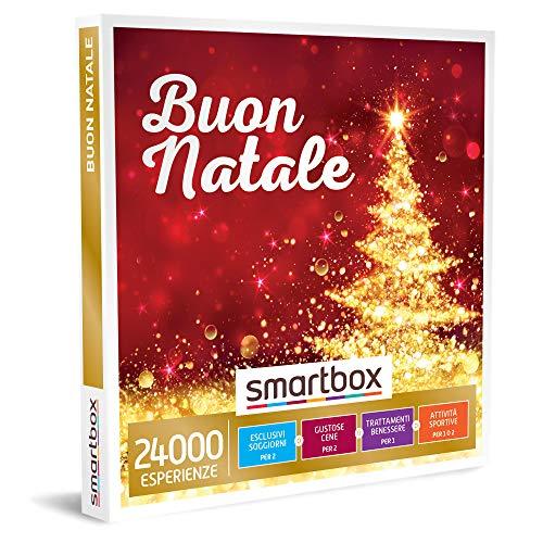 SMARTBOX - Cofanetto regalo di natale per uomo o donna - idee regalo originale - Esperienze uniche a scelta tra soggiorni, momenti di gusto, relax o svago