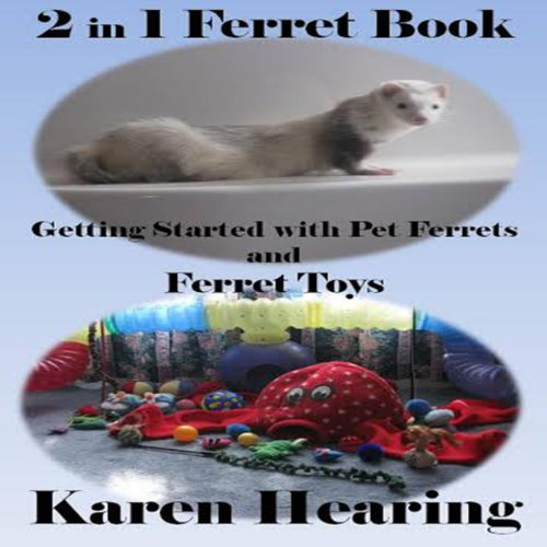 2 in 1 Ferret Book audiobook cover art
