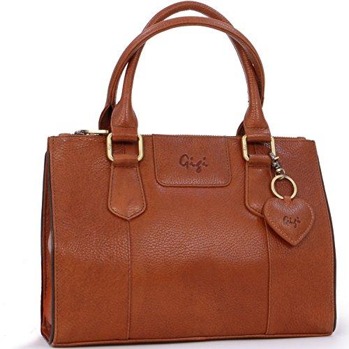 Gigi - Leder - Damenhandtasche/Ledertragetasche/Tote - GIOVANNA 9046