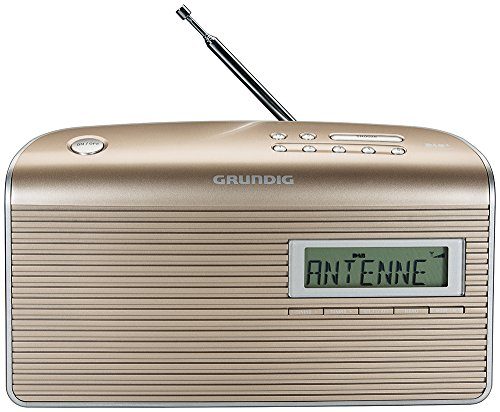 Grundig Music 7000 DAB+ Radio, champagne/silber
