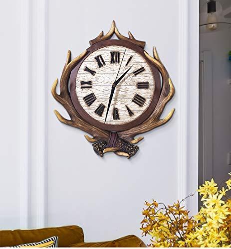 L'Europe du Nord décore l'horloge murale du salon pour dépasser l'horloge sonore silencieuse Caractère individuel Caractère Originalité Vogue Contracté Atmosphère de la Chambre
