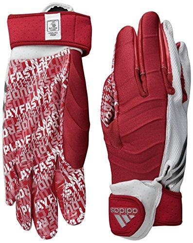 adidas Crazyquick 3.0Adulto Acolchado Guantes de fútbol Receptor - AF0402-114-08, Blanco/Rojo