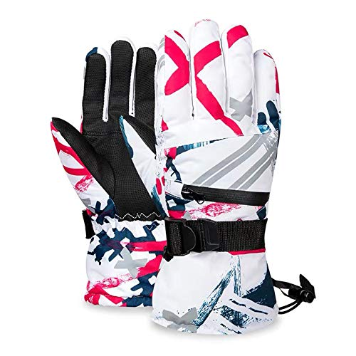 Atercel Ski Gloves -30°F Waterproof Touch Screen Snowboard Gloves for Men Women, Warm Winter Gloves...