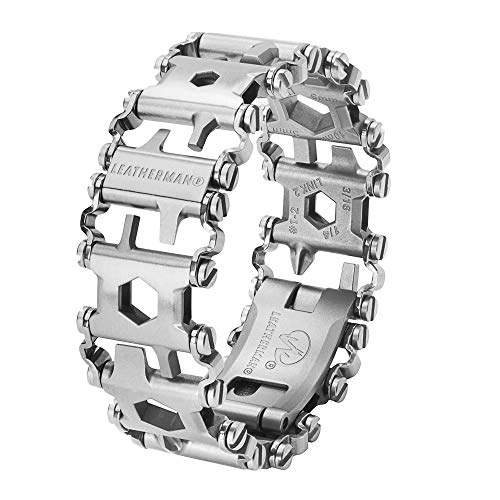LEATHERMAN - Tread Bracelet, The Original Travel Friendly Wearable Multitool, Built in the USA, Stainless Steel