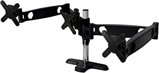 """ARCTIC Z3 Pro- Gaming Triple Monitor Arm with 4-Port USB Hub for up to 30"""" Ultrawide, Up to 30 Kg Weight Capacity (66Lbs),..."""