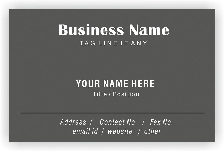 Regelmäßige Design Personalisierte Visitenkarten Kundenspezifische Professional Company Mitarbeiter Visiting Card- vorne B01EUKXSNG  | Sonderangebot