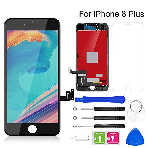 BuTure Pantalla Táctil LCD para iPhone 8 Plus 5.5