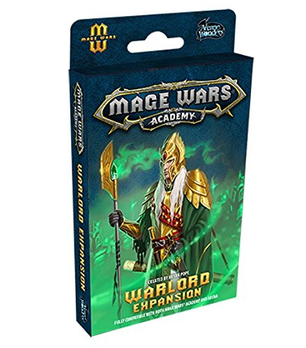 Arcane Wonders ARWX04WD Brettspiel Mage Wars: The Warlord