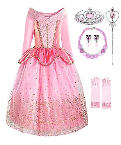 Aurora Princess Costume (2-3, Style 1)