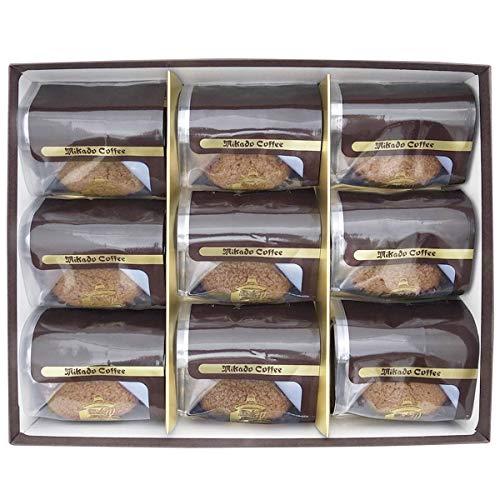ミカド珈琲 トリュフショコラ 9個入 洋菓子 チョコレート カップケーキ 焼き菓子 スイーツ 東京