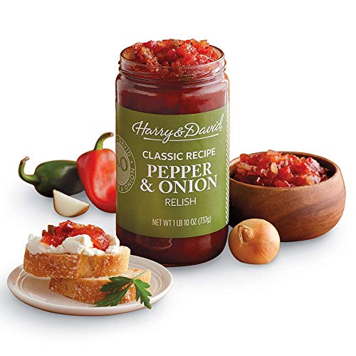 Harry & David Classic Recipe Pepper & Onion Relish (26 Ounces)