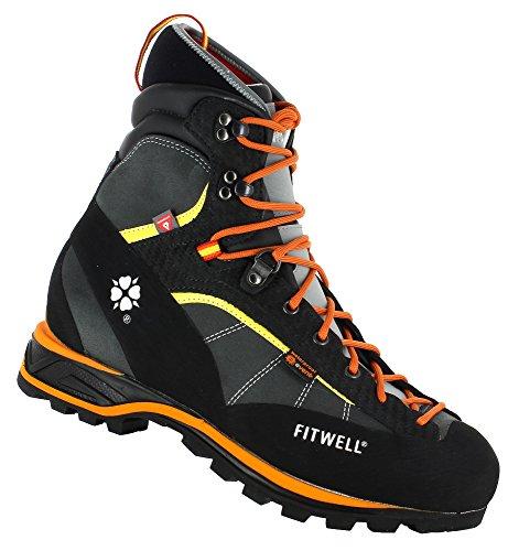 Fitwell warme Bergschuhe/Wanderschuhe Big Wall Rock Winter, wasserdicht mit Event und Primaloft Futter. (UK 9,5 - EU 44)
