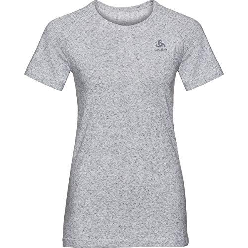 Odlo T-Shirt Millennium Linencool Pro BL Top Crew Neck Gris Argent XL Gris