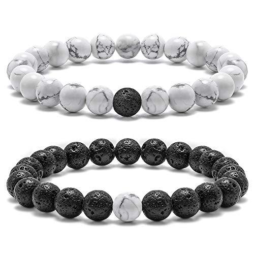 Lava Bead Stone Essential Oil Diffuser Bracelet