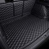 Alfombrilla Maletero Del Coche De Cuero para Ford Edge 5Seats 2015-2021, Cobertura Completa Impermeable Almohadillas De Bandeja Funda De Maleteros Forro Antideslizantes Alfombrillas Accesorios
