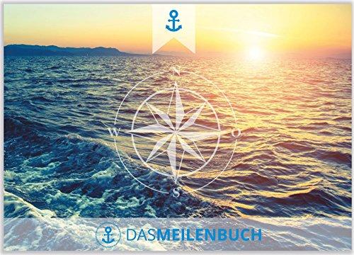 Das Meilenbuch & Logbuch   Segelyacht Schiff Motorboot Sportboot Segeln   Seemeilenlogbuch & Seetagebuch   viel Platz für 40 Törns   Segler und Motorbootfahrer   DIN A5 quer Hardcover   Geschenktipp