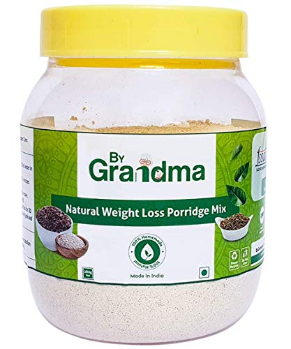 ByGrandma Natural Weight Loss Porridge Mix | weight loss supplement drink for women and men | With Sprouted Horse Gram and Barley 280 grams