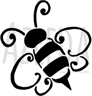 Azeeda A4 'Bumble Bee' Wall Stencil / Template (WS00020235)