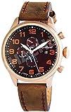 Engelhardt Herren Analog Mechanik Uhr mit Leder Armband 389537029002