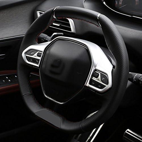 Für 3008 5008 Ii 2017 2020 Silber Matt Interieur Lenkrad Dekor Abs Kunststoff 1 Stück Auto