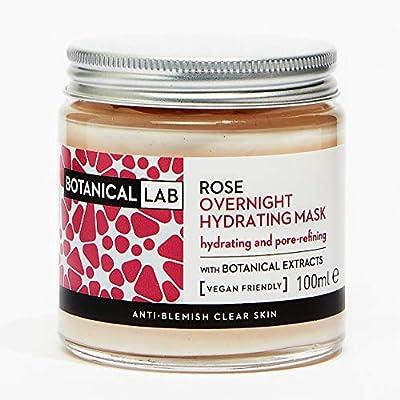 Botanical Lab Rose Overnight Hydrating Face Mask 100ml | with Hyaluronic Acid from Karium