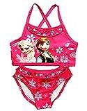 Disfraz de baño – apto para niña – Color fucsia – Dos piezas – Idea regalo de cumpleaños fucsia 5-6 años