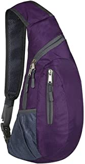 Jessie Kidden Men Women Sling Bags Shoulder Backpack Mini Chest Day Bag Small Cross Body Sling Backpack
