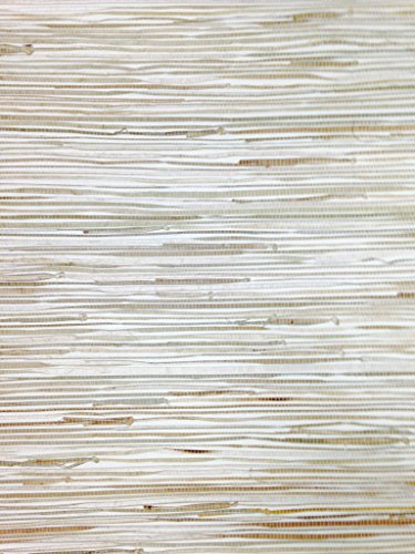 York Wallcoverings NZ0781 Sea Grass Grasscloth Wallpaper, Cream, Beige, Khaki, Tan, Brown