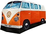 THE MONSTER FACTORY VW Volkswagen T1 Camper Van Adult Camping Tent - Orange - Multiple Color Options Available