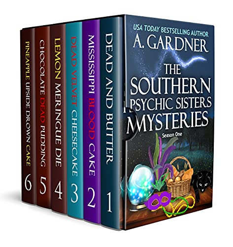 The Southern Psychic Sisters Mysteries: The Complete Season One by [A. Gardner]