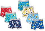Hanes Boys' Tagless Super Soft Boxer Briefs 7-Pack, Prints/Stripes/Solids Assorted, 4