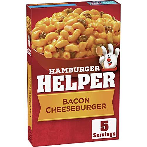 Hamburger Helper, Bacon Cheeseburger Macaroni Meal, 5.1 oz (Pack of 6)