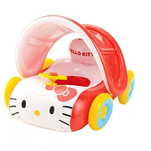 Hello Kitty parasol car walker tube
